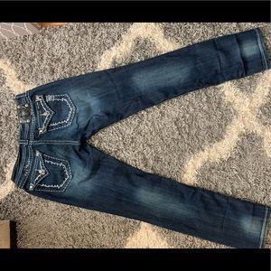 Miss Me Skinny jeans Size 30 with 32 inseam